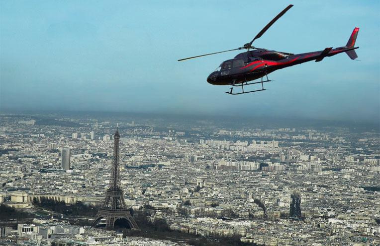 Transfert en Helicopter